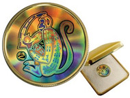 2004 $150 HOLOGRAM GOLD COIN - YEAR OF THE MONKEY