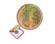 2001 $150 HOLOGRAM GOLD COIN - YEAR OF THE SNAKE