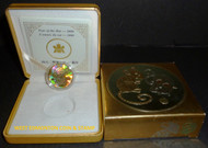 2008 $150 HOLOGRAM GOLD COIN - YEAR OF THE RAT