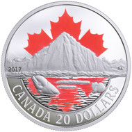 2017 $20 FINE SILVER COIN CANADA'S COASTS SERIES: ARCTIC COAST