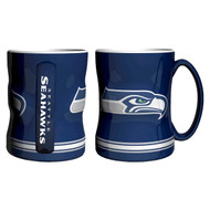 SEATTLE SEAHAWKS NFL RELIEF MUG