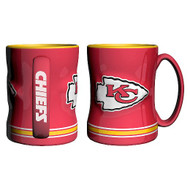 KANSAS CITY CHIEFS NFL RELIEF MUG