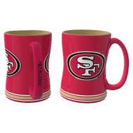 SAN FRANCISCO 49ERS NFL RELIEF MUG