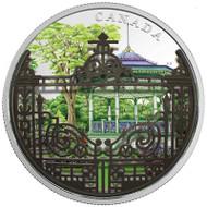 2018 $30 FINE SILVER COIN HALIFAX PUBLIC GARDENS