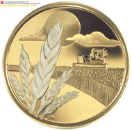 2003 14-KARAT GOLD COIN - DISCOVERY OF MARQUIS WHEAT