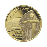 2005 SUPREME COURT OF CANADA $100 GOLD COIN