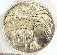2001 14KT $100 125 ANNIVERSARY OF PARLIMENT GOLD COIN - QUANTITY SOLD: 8,080