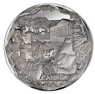 2008 OLYMPIC FINE SILVER KILO - TOWARDS CONFEDERATION - QUANTITY SOLD: 282