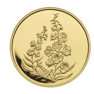 2004 $350 PURE GOLD COIN - FIREWEED (YUKON TERRITORIES FLOWER) - QUANTITY SOLD: 1,836