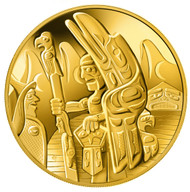 2005 $300 GOLD COIN - TOTEM POLE - QUANTITY SOLD 948