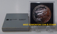 1985 CANADIAN BRILLIANT UNCIRCULATED SILVER DOLLAR - NATIONAL PARKS CENTENNIAL