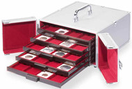 LIGHTHOUSE ALUMINUM CASE FOR UP TO 5 MB COIN BOXES TRAYS SOLD SEPARATELY