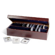 COIN CASE FOR 50 CERTIFIED COIN HOLDERS