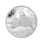 2013 $20 FINE SILVER COIN - THE BALD EAGLE - LIFE LONG MATES