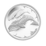 2013 $3 FINE SILVER COIN - LIFE IN THE NORTH
