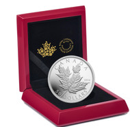 2014 $50 FINE SILVER COIN MAPLE LEAVES