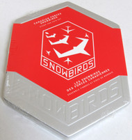 2006 $5 SNOWBIRDS $5 FINE SILVER COIN AND STAMP SET