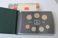 2000 7-COIN SPECIMEN SET - POLAR BEAR TOONIE