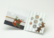 2007 HOLIDAY GIFT SET - WITH ENAMEL PAINTED CHRISTMAS TREE QUARTER