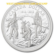 2012 PROOF SILVER DOLLAR - 200TH ANNIVERSARY OF THE WAR OF 1812