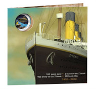 2012 25-CENT COLOURIZED COIN - R.M.S. TITANIC