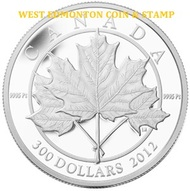 2012 $300 PLATINUM COIN - MAPLE LEAF FOREVER