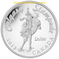 2012 SPECIAL EDITION SILVER DOLLAR - 100 YEARS OF THE CALGARY STAMPEDE