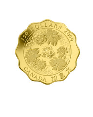 2009 $150 PURE GOLD COIN - BLESSINGS OF WEALTH - QUANTITY SOLD: 1,273