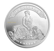 2010 $10 FINE SILVER COIN - 75TH ANNIVERSARY OF THE FIRST BANK NOTES ISSUED BY THE BANK OF CANADA - QUANTITY SOLD: 6,818