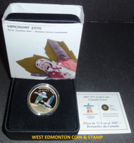 2007 OLYMPIC $75 14KT GOLD COIN - CANADA GEESE