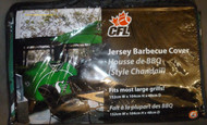 CFL JERSEY BBQ COVER - SASKATCHEWAN ROUGH RIDERS