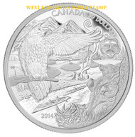 2014 $50 FINE SILVER COIN ABORIGINAL STORY: THE LEGEND OF THE SPIRIT BEAR