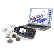 LCD MACROCAM, 7X TO 108X MAGNIFICATION, USB DIGITAL MAGNIFIER, MICROSCOPE AND MACRO CAMERA