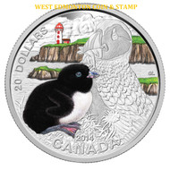 2014 $20 FINE SILVER COIN BABY ANIMALS: ATLANTIC PUFFIN