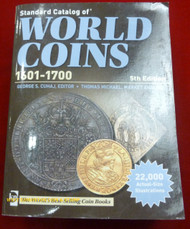 STANDARD CATALOG OF WORLD COIN MONEY - 1601 TO 1700 - 5TH EDITION
