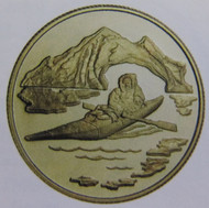 1980 22KT $100 GOLD COIN - ARCTIC TERRITORIES