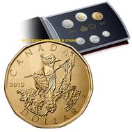 2015 6-COIN SPECIMEN SET - BLUE JAY LOONIE
