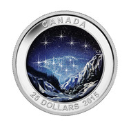2015 $25 FINE SILVER COIN - STAR CHARTS - THE ETERNAL PRESUIT