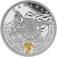 2015 $20 FINE SILVER COIN - FIRST WORLD WAR: BATTLEFRONT SERIES - THE BATTLE OF NEUVE-CHAPELLE