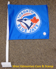 MLB  TORONTO BLUE JAYS CAR FLAG