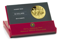 2005 $50 GOLD COIN - 60TH ANNIVERSARY OF THE SECOND WORLD WAR