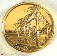 2002 22KT $200 GOLD COIN - TOM THOMPSON PAINTING - JACK PINE