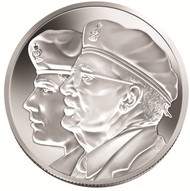 2005 $10 FINE SILVER – YEAR OF THE VETERAN
