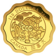 2015 $150 PURE GOLD COIN BLESSINGS OF PROSPERITY