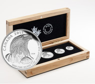 2015 FINE SILVER FRACTIONAL SET BALD EAGLE