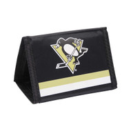 PITTSBURGH PENGUINS - NYLON TRI-FOLD WALLET