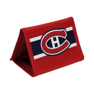 MONTREAL CANADIENS - NYLON TRI-FOLD WALLET