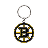 BOSTON BRUINS - DIE CUT LOGO KEYCHAIN