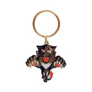 FLORIDA PANTHERS - DIE CUT LOGO KEYCHAIN