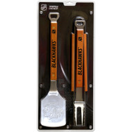 NHL BBQ SPORTULA SET - CHICAGO BLACKHAWKS